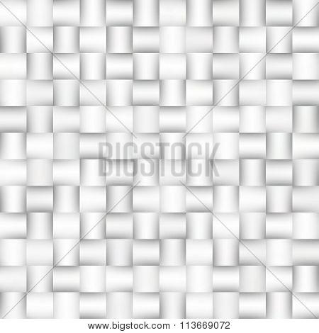 Vector Seamless Greyscale Gradient Squares Lattice Geometric Pattern