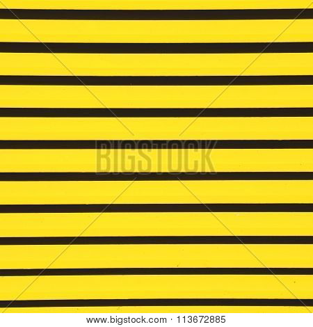 Yellow  Abstract Metal In Englan London Railing Steel And Background