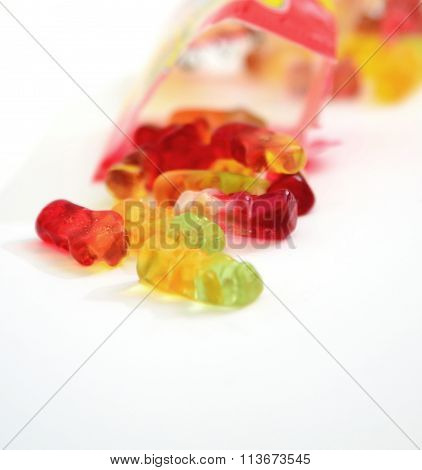 Colorful Gummi Jelly Candies