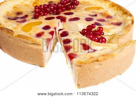 Redcurrant Tart Cake