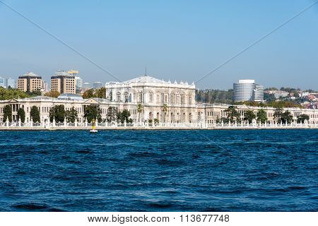 The beautiful Dolmabahce Palace