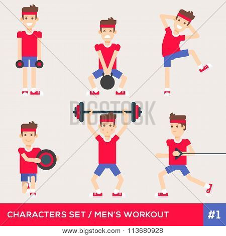 Fitness Characters 1