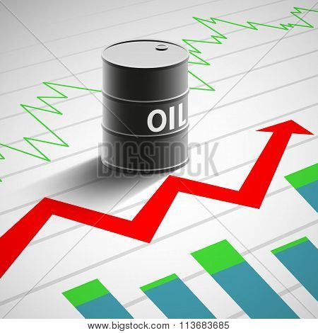Financial Background. Stock Illustration.