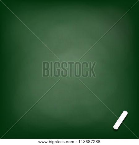 Chalk Board. Stock Illustration.