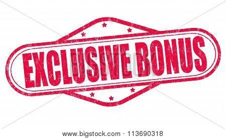 Exclusive Bonus Stamp