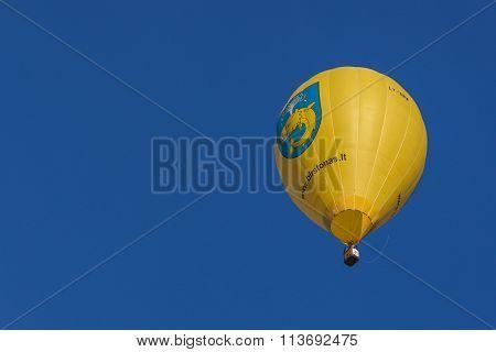 Lithianian Air-Balloon Taking Part in International Aerostatics Cup