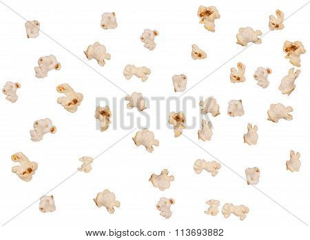 Isolated Popcorn