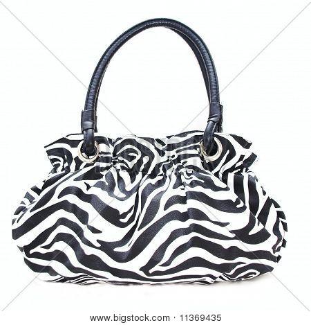 Black and White Zebra purse