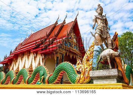 Wat  Salakphet - Thai Temple On Ko Chang Island