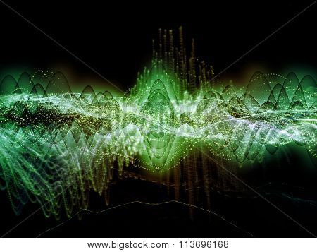 Visualization Of Sound Wave
