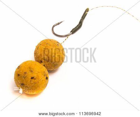 Boilies - Big Carp Fishing Bait Closeup