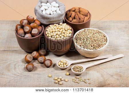 Natural Products Containing Plant Proteins.