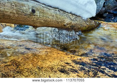 Frozen Mountain River
