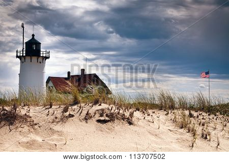 Race Point Lighthouse Before Storm