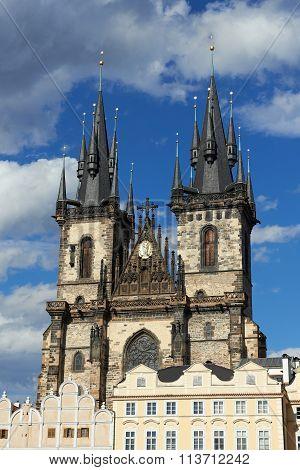 Church Of Mother Of God Before Tyn, Prague