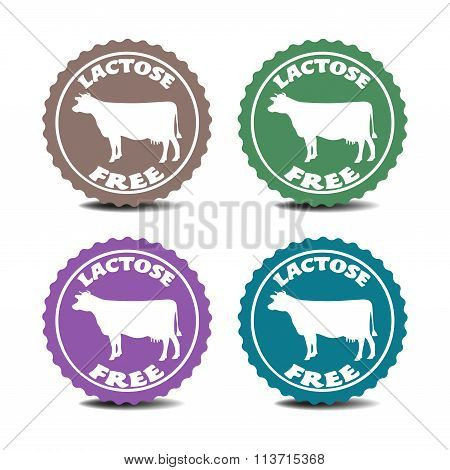 Lactose free stickers