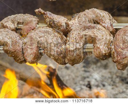 Filet Steak - Picanha, Traditional Brazilian Barbecue.
