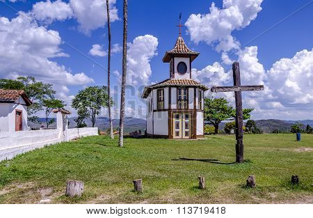 Chapel In Milho Verde , District Of The Brazilian City Of Serro , Minas Gerais.