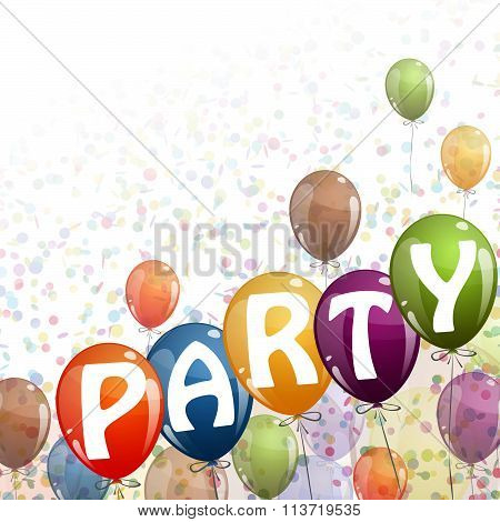 Colored Balloons - Party