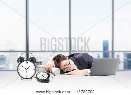 Sleeping At Work Place
