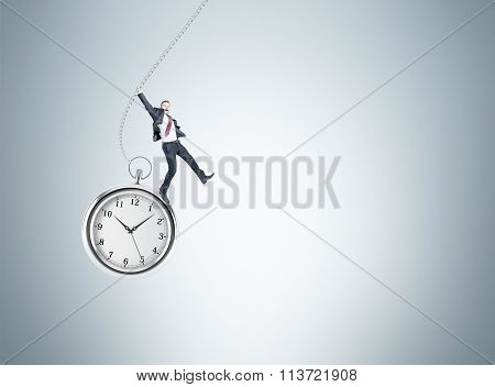 Man On The Pocket Watch