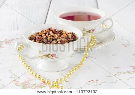 Fruit Tea With Dried Fruit