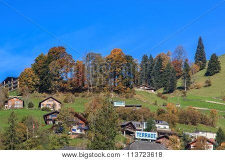 View In Engelberg, Switzerland