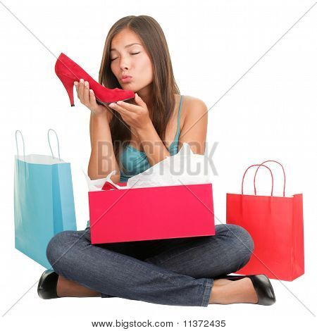 Shoes Shopping Woman