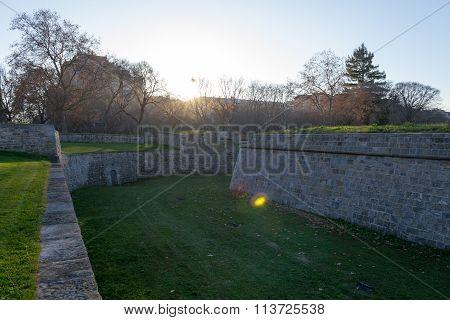 Sun And Walls