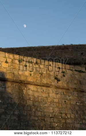 Walls And Moon