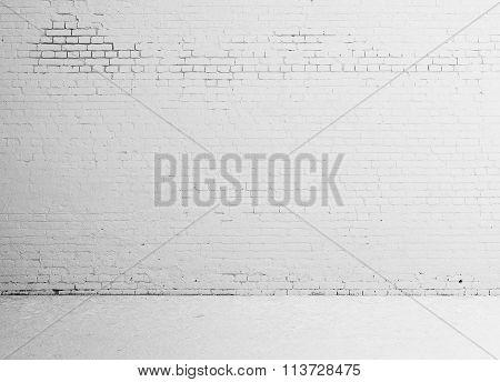 White Empty Loft