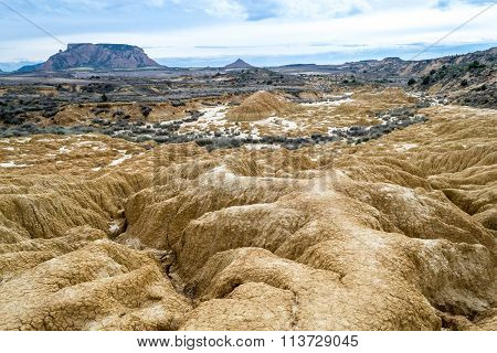 Erosion In White Bardenas