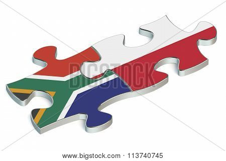 Poland And South Africa Puzzles From Flags