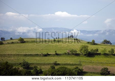 Countryside in Romanian Banat