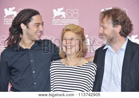 Actors Jonas Carpignano Fiorella Infascelli and Francesco Bruni