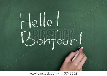 Speaking Learning French Language