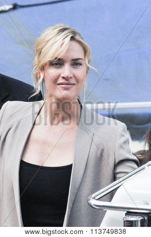 Actress Kate Winslet