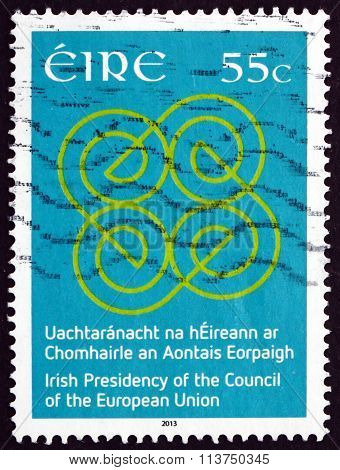 Postage Stamp Ireland 2013 Ireland's Presidency Of The Council O