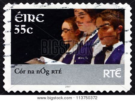 Postage Stamp Ireland 2007 Children's Choir