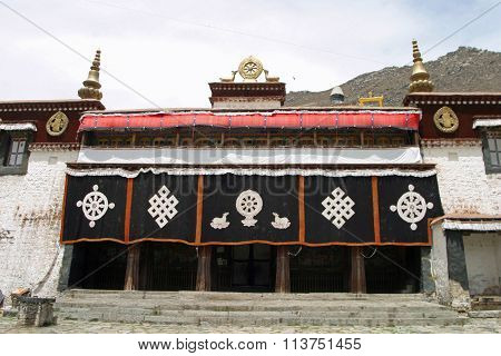Sera Monastery in Tibet People's Republic of China
