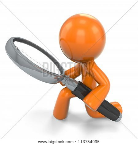 Orange Man Detective