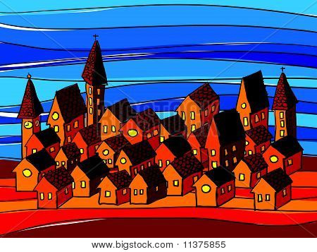 houses composition