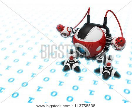 Web Crawler, Indexer Web Spider, Internet Bot, Or Scutter