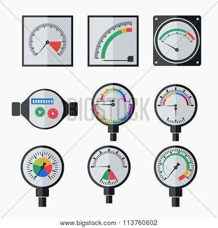 icons of measuring instruments