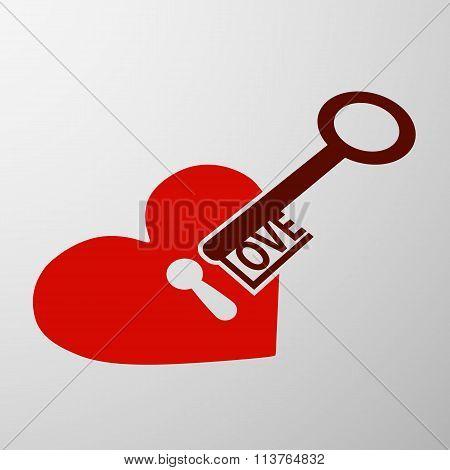 Keyhole And Key