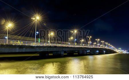 Bridge Tran Phu, Nha Trang at night