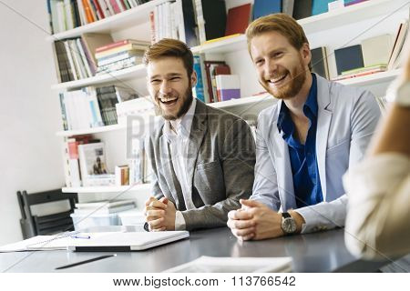Business Smiling