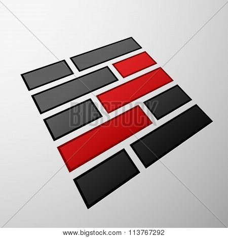 Emblem Of The Bricks.