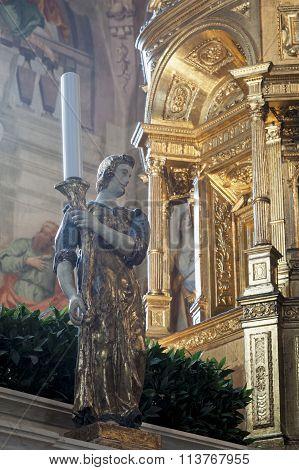 The ciborium On The Altar