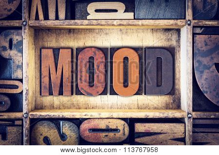 Mood Concept Letterpress Type